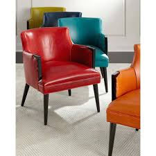 orange kitchen chair leather dining chair 2 a liked on featuring