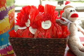 Sock Monkey Favors by Sock Monkey Decorations Archives Chelsea Rotunno