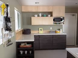 Minimalist Kitchen Cabinets Easy Way How To Install Kitchen Cabinets On Concrete Wall Home