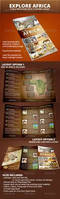 zoo brochure template explore africa trifold brochure brochures brochure template and