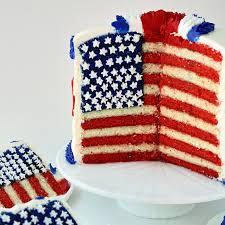 fourth of july flag cake and tutorial u2013 sugarywinzy