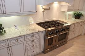 Kitchen Countertop Options To Start White Galaxy Granite Kitchen Countertop Options On A