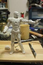 iron man sculpting by domcalmet on deviantart