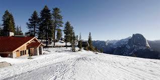 Ski Service Bench Yosemite Ski U0026 Snowboard Area Yosemite National Park Ca