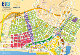 Where Is France On The Map Maps And Brochures Of Nice Côte D U0027azur