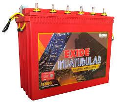 exide inva tubular battery 150ah 12v red amazon in home u0026 kitchen
