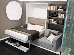 Sofa With Bed Futons And Gray Fabric Sofa Couch With Wooden Folding Bed Also F