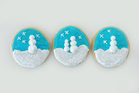 how to make snow globe christmas cookies pear tree blog