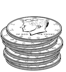 download coin coloring page ziho coloring