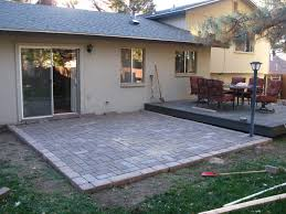 Cost Of A Paver Patio by Lovely Decoration Building A Paver Patio Pleasing How Much Does It