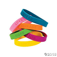 rubber wristband bracelet images Inspirational sayings rubber bracelets