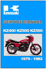 kawasaki workshop manual kz400 z400 u0026 z400j 1979 1980 1981 1982