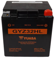 yuasa gyz high performance maintenance free battery gyz32hl