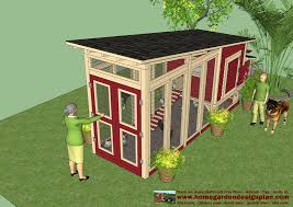 Small Backyard Chicken Coop Plans Free by Home Garden Plans M100 Chicken Coop Plans Construction