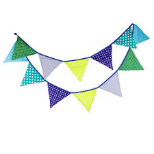 Pretty Bunting Flags 12 Flags 3 2m Table Decoration Bunting Flag Banner Artificial
