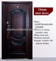 single door design nigeria main entrance exterior cheap steel security door design