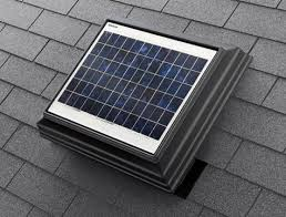 solar attic fans 4 seasons insulation