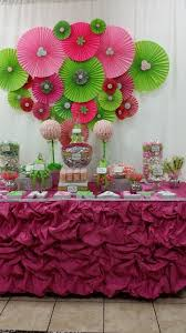 Brooklyn Baby Shower - pink and green baby shower party ideas babyshower babies and