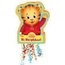 daniel tiger u0027s neighborhood pull string pinata walmart com