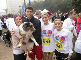2011 thanksgiving day dallas turkey trot top of the morning to you