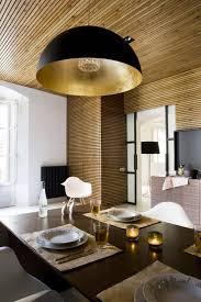Zen Ceiling Light Amazing Zen Like Kitchen With Wood Slat Panelling
