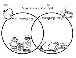 compare and contrast thanksgiving by teaching power tpt