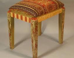 Velvet Vanity Chair Velvet Stool Etsy