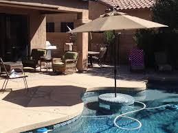 backyard oasis pool tub putting green ocotillo golf
