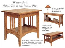 Free Simple End Table Plans by Table Plans End Table Plans The Faster U0026 Easier Way To Woodworking