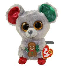 ty beanie boos mac mouse glitter eyes regular size 6