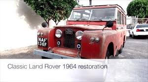 Upholstery Restoration Classic Land Rover Upholstery Restoration Youtube