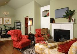 livingroom design living room decorating red wall with a gorgeous gallery i see and