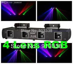 Lazer Light Wholesale Dl 55b 760mw 4 Lens Rgb Laser Light Disco Dj Pro Party