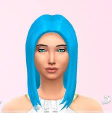 sims 4 blue hair sky blue hair at star s sugary pixels sims 4 updates