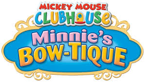 minnie s bowtique mickey mouse clubhouse clipart
