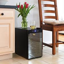 ivation 8 bottle red and white winethermoelectric wine cooler
