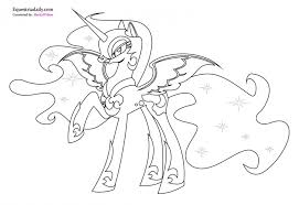 fresh pony princess cadence coloring pages 60
