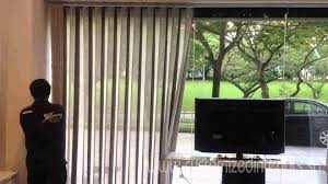 vertical sheer blinds video youtube