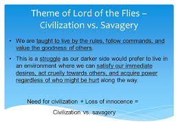 lord of the flies themes and messages lord of the flies notes survival simulation elements of society
