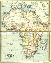 African Countries Map Africa Map 1913