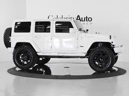white jeep 4 door white jeep wrangler sahara 2 door five cars daddy of all daddies
