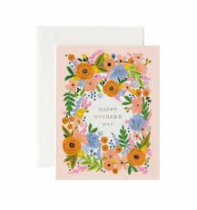 paper greeting cards floral s day greeting card by rifle paper co made in usa
