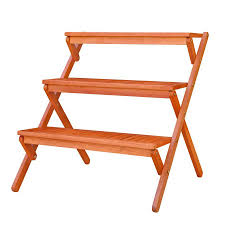 plant stand wooden plant rack shop stands at lowes com outdoor