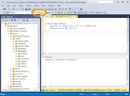 sql server create table primary key sql server 2016 create a table from an sql script