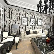 abstract tree branches wallpaper roll 3d modern vinyl wall paper