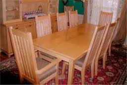 Maple Dinning Room Set - Maple dining room tables