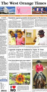 06 19 14 the west orange times by orange observer issuu