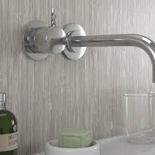 selkie board waterproof bathroom shower wall panel silver rain