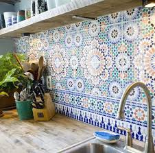 colorful kitchen backsplashes best 25 mosaic backsplash ideas on mosaic tile