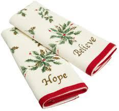 christmas towels lenox golden christmas towels whyrll